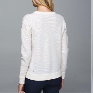 Lululemon Yogi Crew Sweater Merino Wool